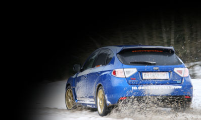 Subaru Impreza Snow Drift